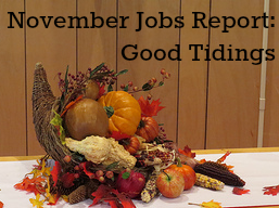 November 2015 jobs report better than expected