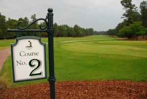 Pinehurst golf courses 1 - 9