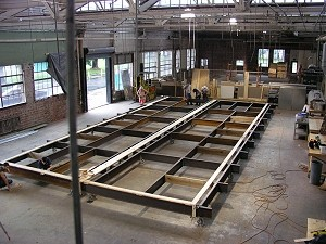 modular home floor frame